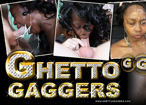 Nina Moore Destroyed On Ghetto Gaggers